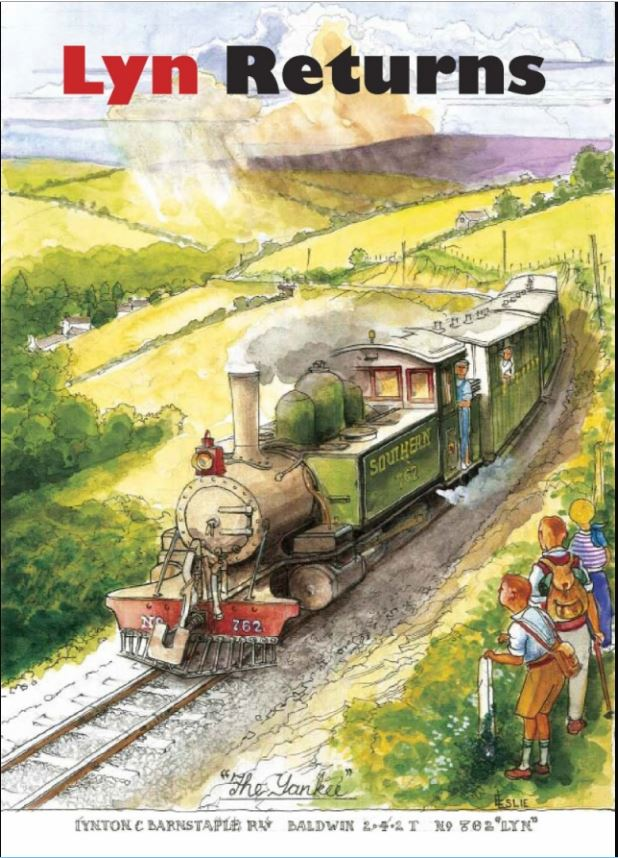 LYN; You've seen the loco, now buy the book! Available online and from the L&B Woody Bay shop. Click the image...